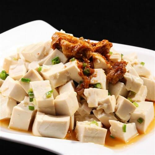【家有大厨】水腌菜拌黄豆腐