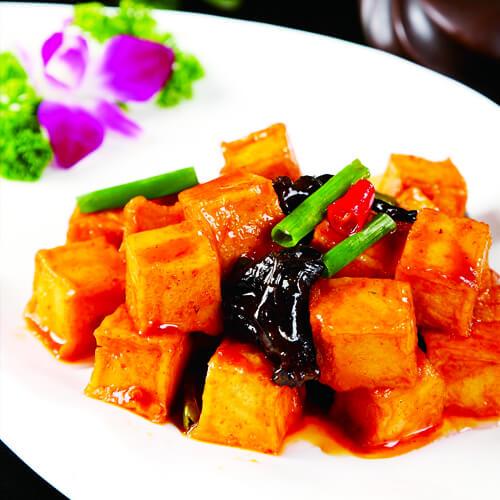 香喷喷的千叶豆腐的做法