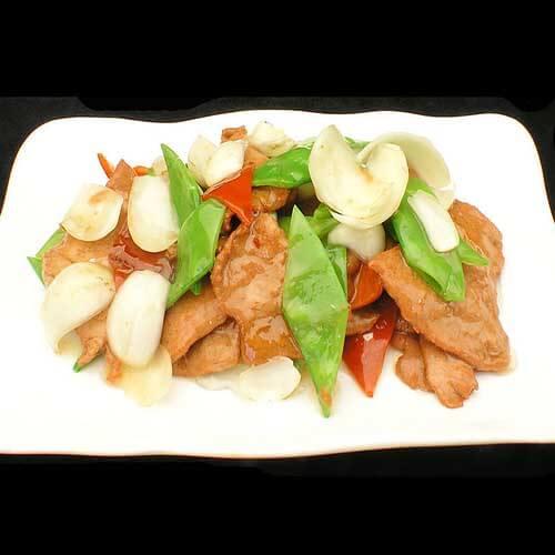 芹菜炒鱼丸片