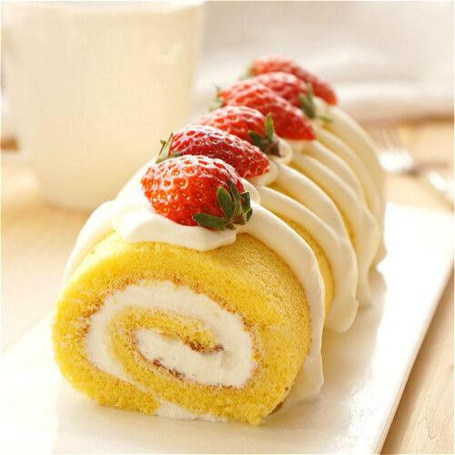 香蕉戚风蛋糕卷