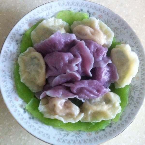 紫薯馅儿水饺