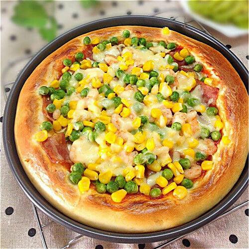 田园花样披萨