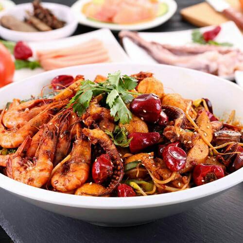 家庭式麻辣香锅