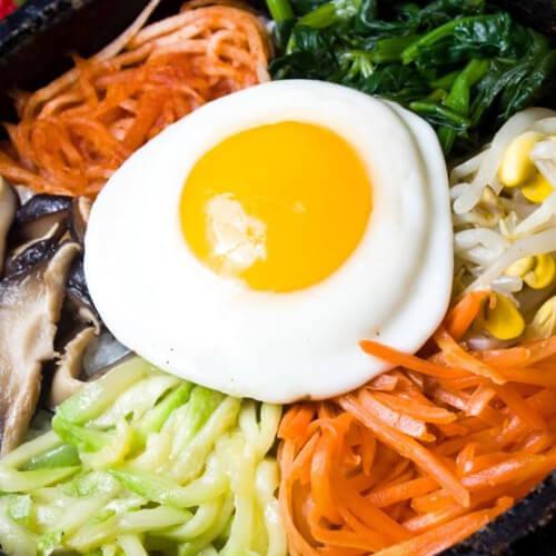 美味的韩国拌饭的做法