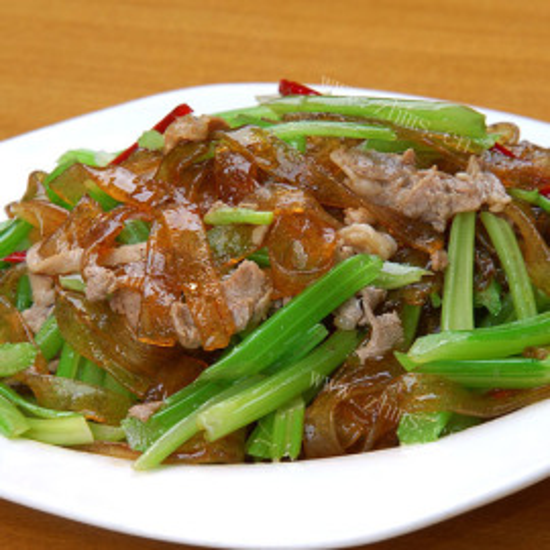 千页豆腐炒胡萝卜芹菜