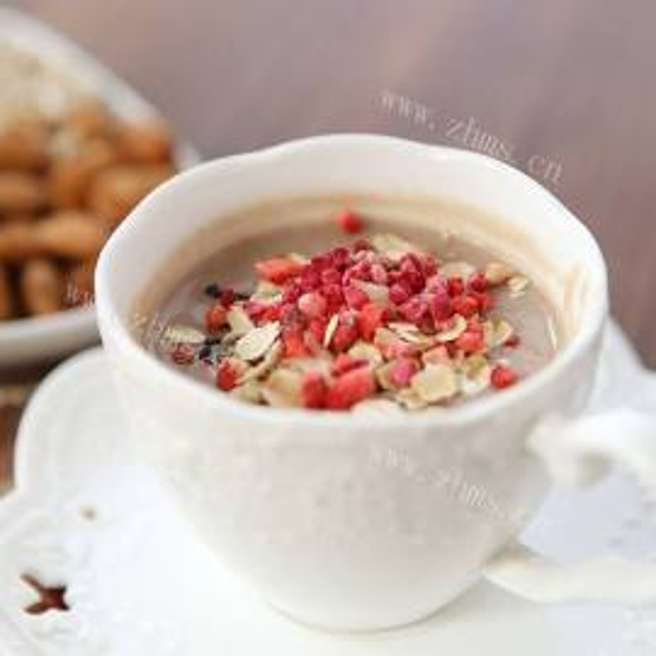 草莓燕麦优酸乳