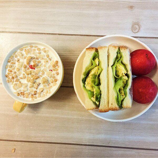 美式三明治早餐