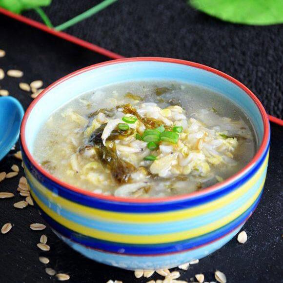 紫菜虾皮燕麦粥