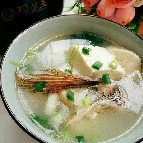 鳜鱼蔬菜豆腐汤