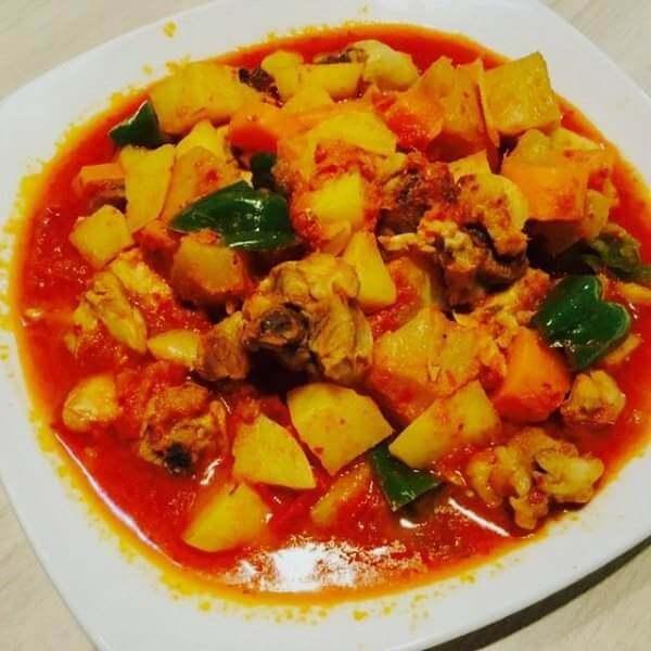 马来咖喱鸡