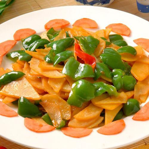 什锦土豆片