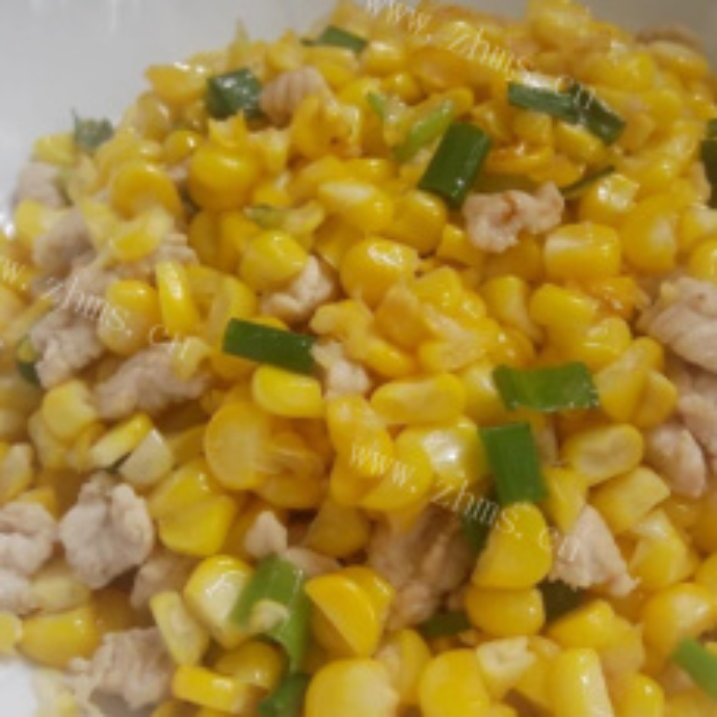 【手工美食】玉米葱花