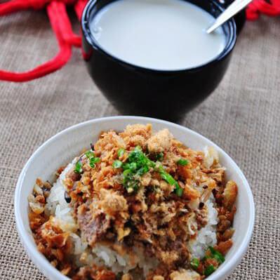 美美厨房之传统糯米饭