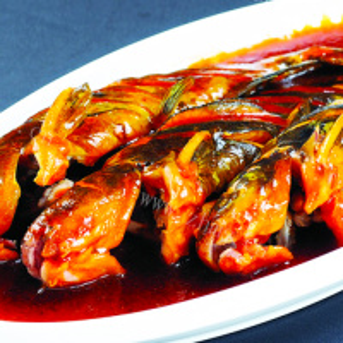 美味酱焖嘎鱼的做法