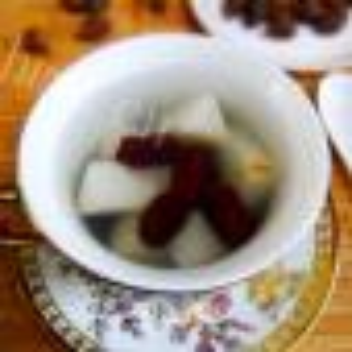香甜鸭梨炖冰糖