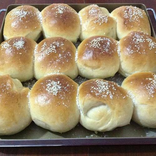 奶油椰浆面包