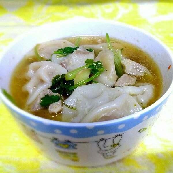 豆腐猪肉香菜饺(家庭版)