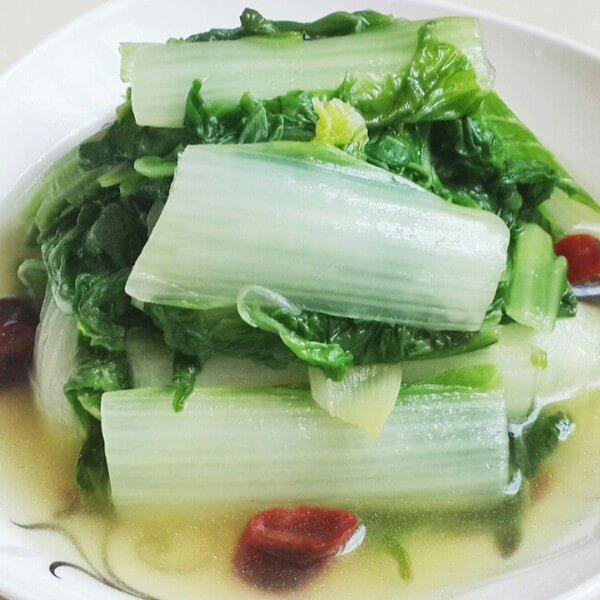 蚝汁水白菜