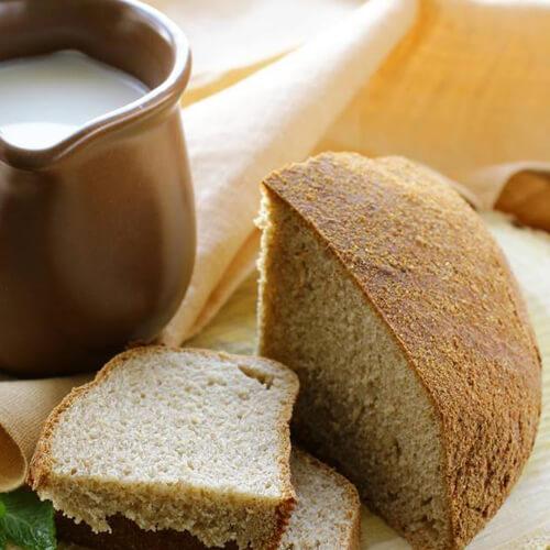 【经典美食】黑麦牛奶面包