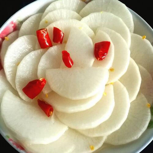自制酸甜萝卜片