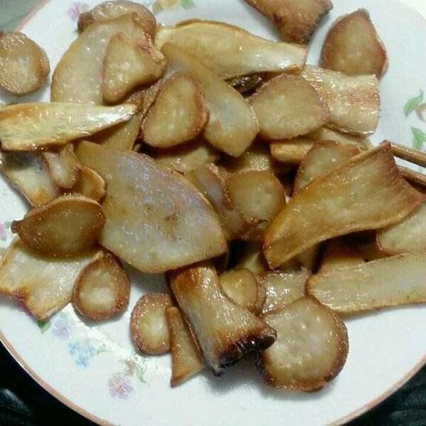 私房酱料汁煎杏鲍菇