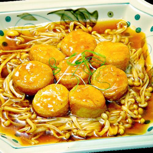 奇特的凤尾菇汤的做法