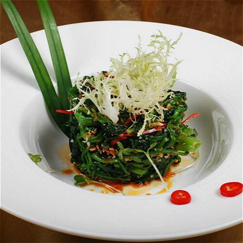 蒜蓉菠菜卷