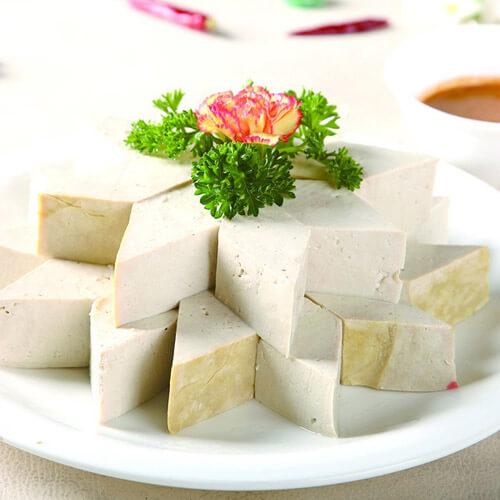 【懒人版】肉末酱蘸豆腐