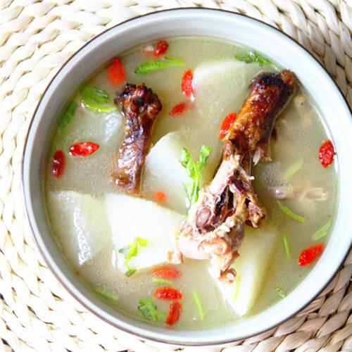 养生萝卜汤的做法