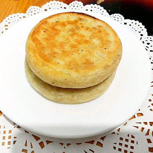 芝麻豆渣糯米饼
