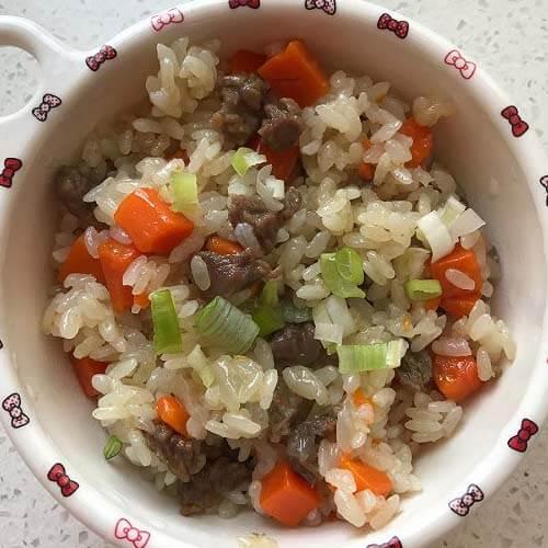 新疆牛肉抓饭