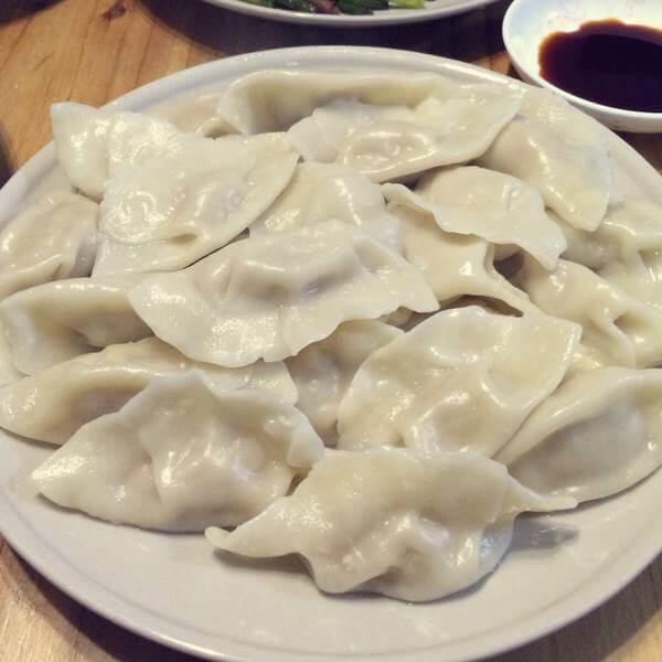 猪肉白菜陷饺子