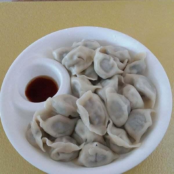 豆腐猪肉香菜饺