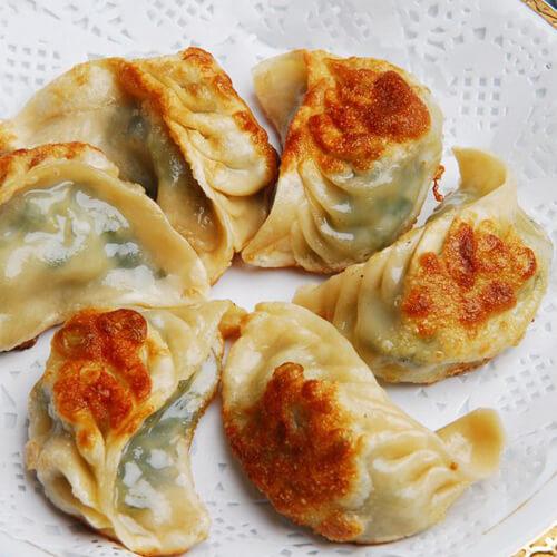 自制豆腐猪肉生煎饺