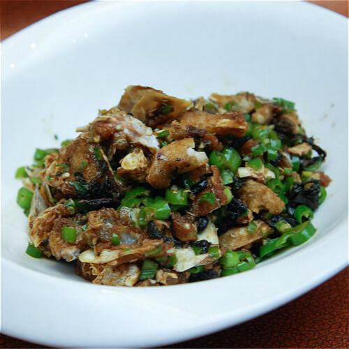 黄酱大白菜炒猪蹄肉