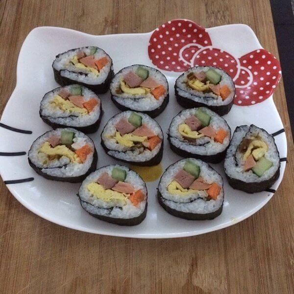 美味的寿司的做法