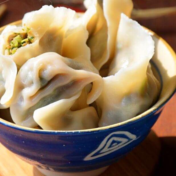 猪肉白菜虾仁饺子