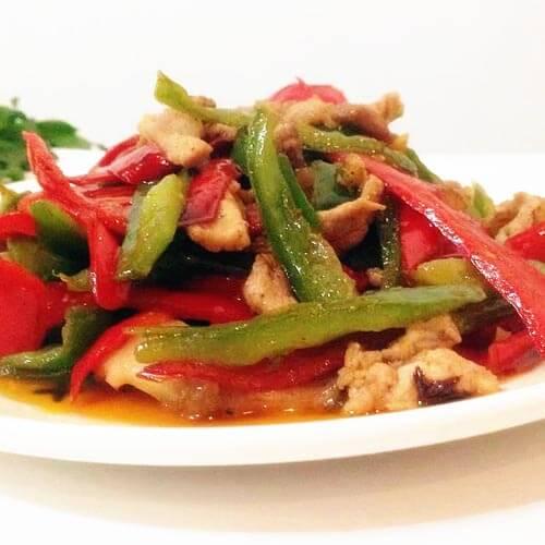 小米椒炒肉