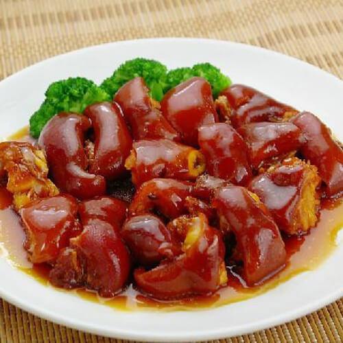 简单黄豆炖猪蹄的做法