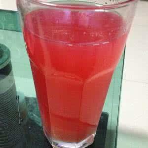 自制山楂汁