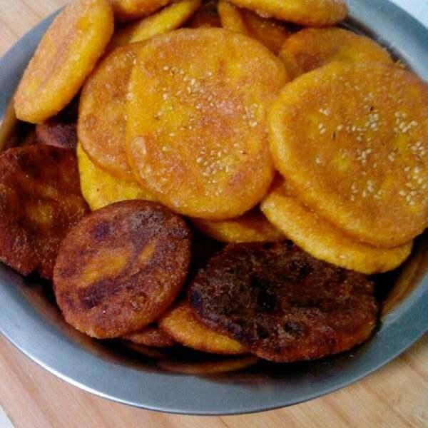 电饼铛版奶香玉米饼
