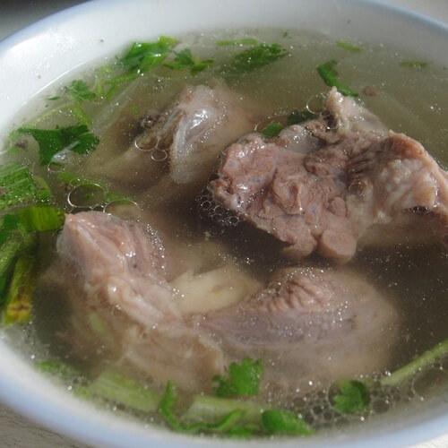 好喝清炖羊肉汤的做法