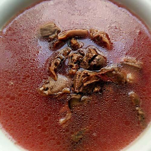 蛇鱼红菇汤