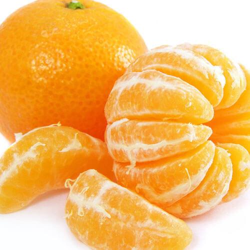 香甜的清炒橘子