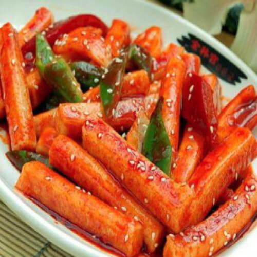 好吃的韩国辣炒年糕的做法