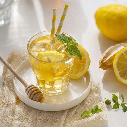 家庭版蜂蜜柠檬水的做法