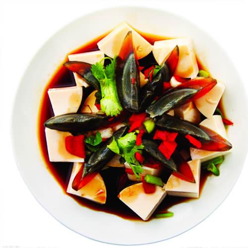 家常麻醬皮蛋豆腐的做法