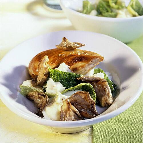 土豆香菇烧鸡腿