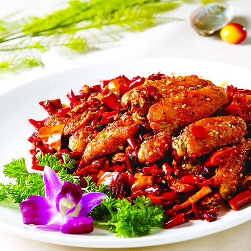 干锅香辣鸡翅的做法