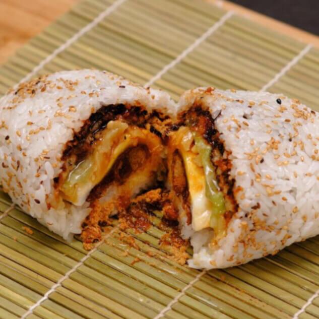 芝麻豆浆糯米饼